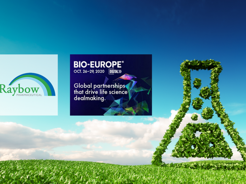 Raybow Attends Bio-Europe Digital - Oct. 26th thru 29th, 2020 Image